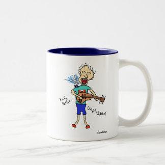 unplugged Two-Tone coffee mug