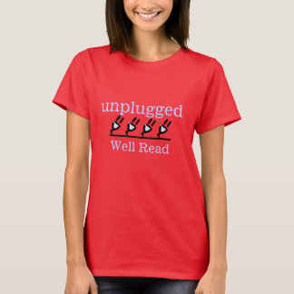 unplugged, Well Read T-Shirt