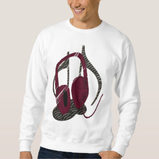 Unplugged (white apparel only) sweatshirt