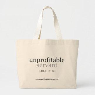 Unprofitable Servant Tote