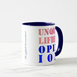 """Unqualified Opinion"" Mug"