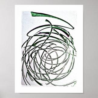 Unravel-art poster