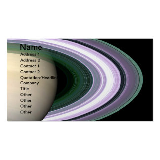 Unraveling Saturn's Rings Double-Sided Standard Business Cards (Pack Of 100)