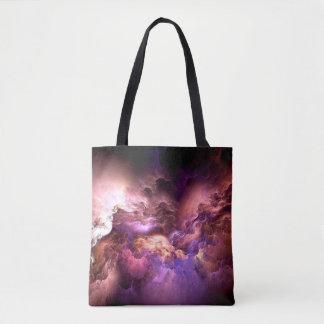 Unreal Purple Clouds Tote Bag