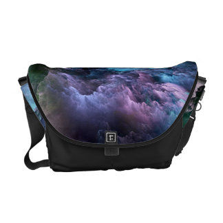 Unreal Stormy Ocean Messenger Bag
