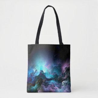 Unreal Stormy Ocean Tote Bag