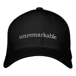 unremarkable flexfit hat