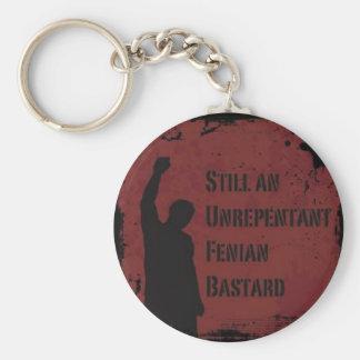 Unrepentant Fenian Bastard Keychain
