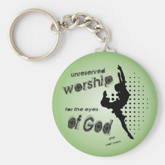 Unreserved Worship keychain