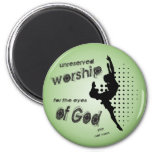 Unreserved worship magnet
