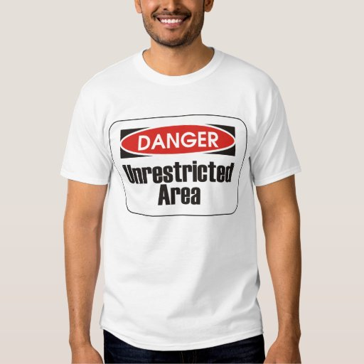 Unrestricted Area T-shirt