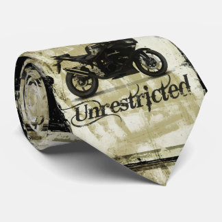UNRESTRICTED GRUNGE MOTORCYCLE MOTORBIKE GANG MOTT NECK TIE