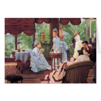 Unrivaled by James Tissot Stationery Note Card