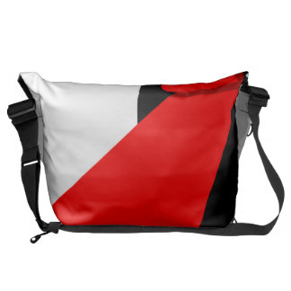 Unroll the red carpet messenger bag