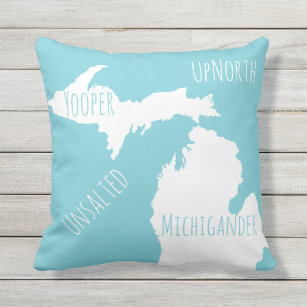 Michigan Pillows Decorative Amp Throw Pillows Zazzle