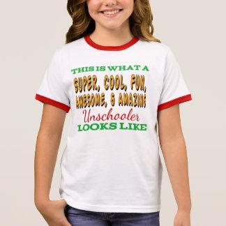 Unschool Shirt | Awesome Unschooler