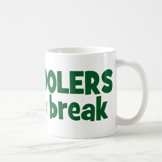 Unschoolers Never Get a Break Coffee Mug