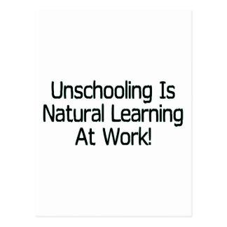 Unschooling Postcard