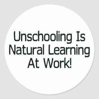 Unschooling Stickers