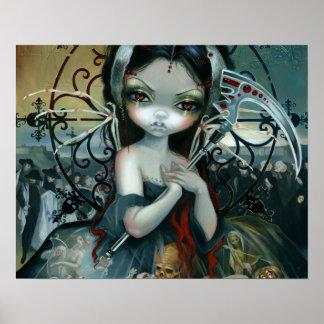 Unseelie Court:  Death by Jasmine Becket-Griffith Poster