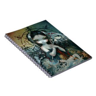 """""""Unseelie Court:  Death"""" Notebook"""