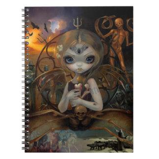 """""""Unseelie Court:  Famine"""" Notebook"""