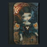 """&quot;Unseelie Court:  Pestilence&quot; Wallet<br><div class=""""desc"""">The first in a new series I&#39;m debuting called &quot;The Unseelie Court&quot; - I did this piece for Dragon*Con 2013 where it won the &quot;Best Fairy&quot; award in the Art Show. Each painting in my Unseelie Court series depicts important individuals or families within the Unseelie Court. Exploring the darker side...</div>"""