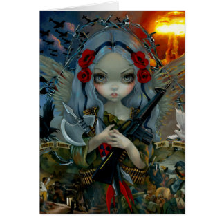 """Unseelie Court:  War"" Greeting Card"