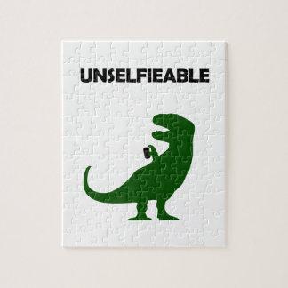 Unselfieable T-Rex Puzzle