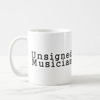 Unsigned Musician Coffee Mug