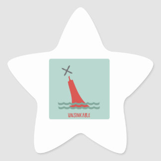 Unsinkable Star Sticker