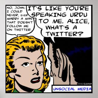 Unsocial Media Poster