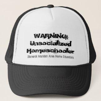 Unsocialized Homeschooler Hat