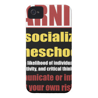 unsocialized homeschoolers iPhone 4 cover