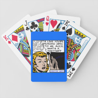Unsociall Media Playing Cards