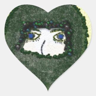 unspoken heart sticker