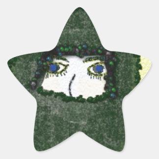unspoken star sticker