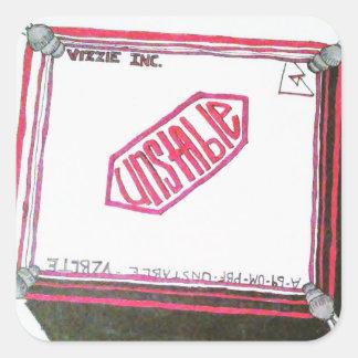 Unstable - Cover Sticker