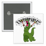 Unstopable T-Rex Pins