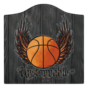 Unstoppable (Basketball) Door Sign  sc 1 st  Zazzle & Basketball Door Signs | Zazzle