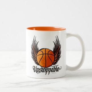 Unstoppable (Basketball) Two-Tone Coffee Mug