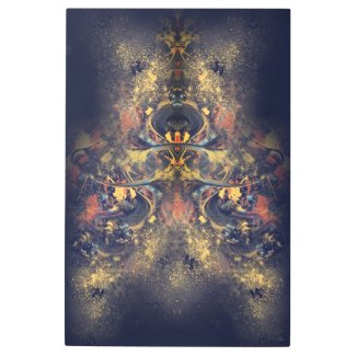 Unstoppable Entity Metal Print