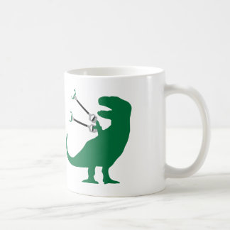 Unstoppable T-Rex Classic White Coffee Mug