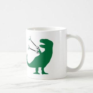 Unstoppable T-Rex Classic White Coffee Mug