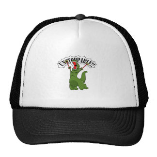 Unstoppable T-Rex Trucker Hat
