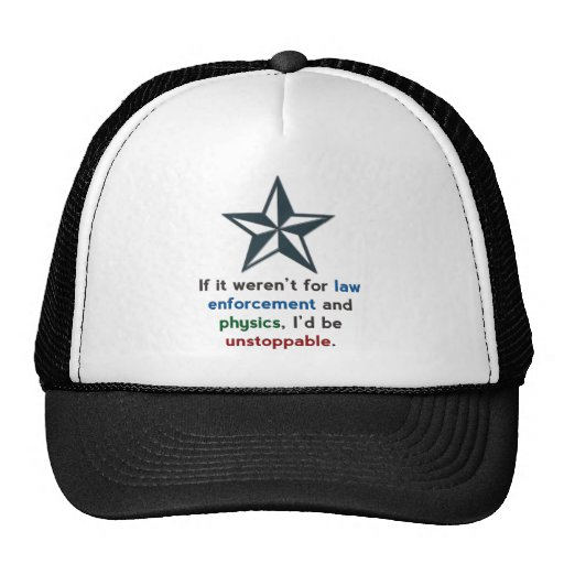 Unstoppable with Star Trucker Hat