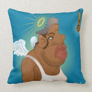 Unsung hero throw pillow