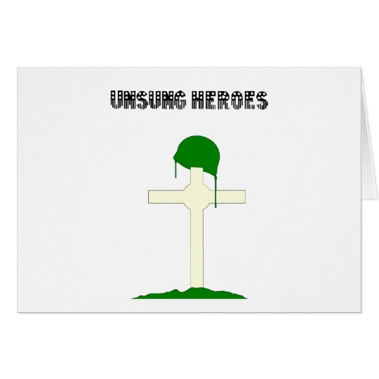 Unsung Heroes Card