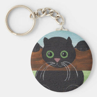 Unsure Hang in There, Kitty Keychain