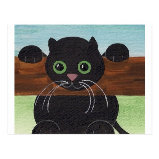 Unsure Hang in There, Kitty Postcard